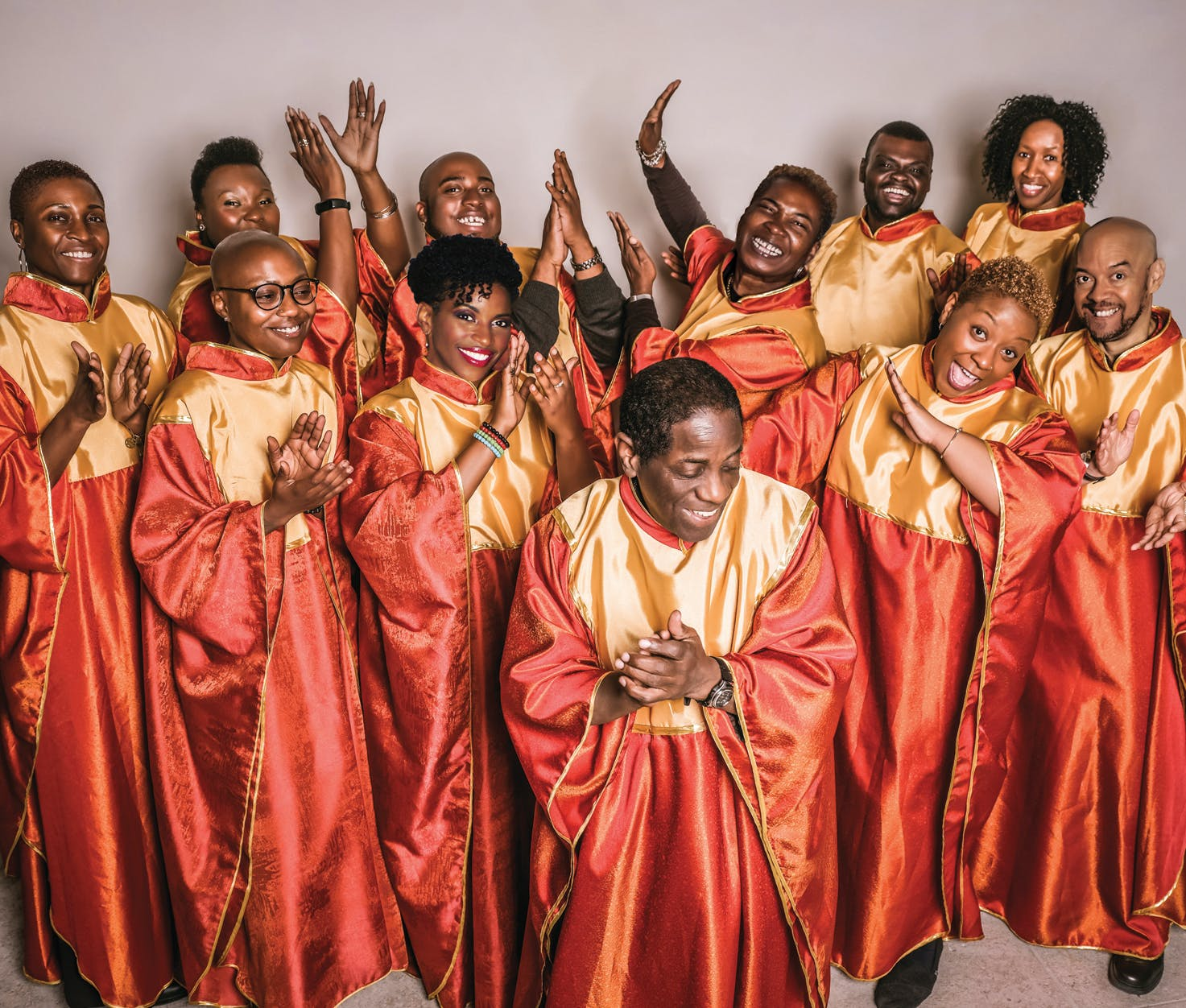 Die GOLDEN VOICES OF GOSPEL © Rene van der Voorden
