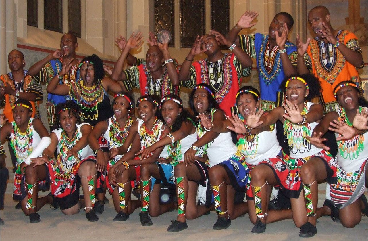 """We are Lesedis and are proud to share our talents in Africa and abroad."" © Lesedi Show Choir"